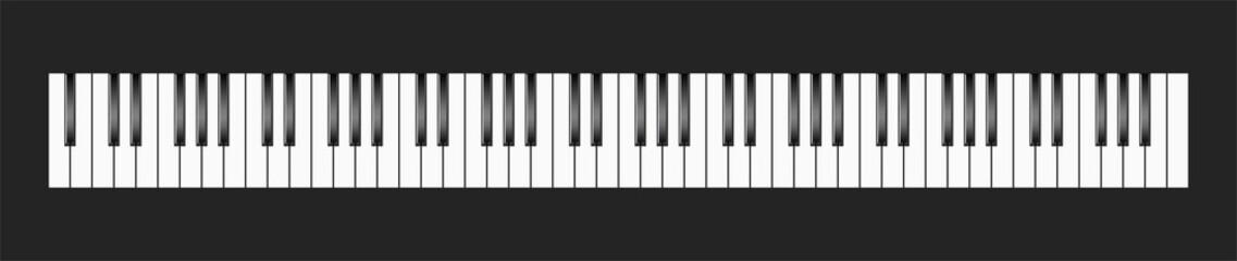 Klavier Tastatur Vektor