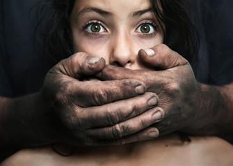 Domestic violence - conceptual image