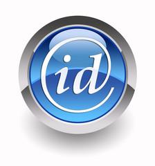 ''Identification'' glossy icon