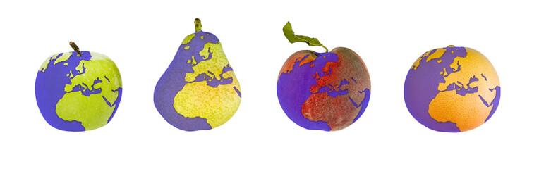 frutas tierra