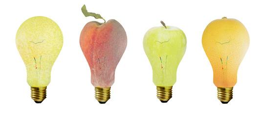 frutas bombilla