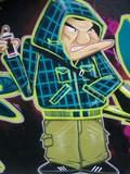Fototapete Abbildung - Wandbild - Graffiti