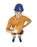 constructor worker poster