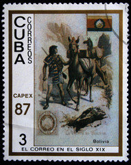post of Bolivia