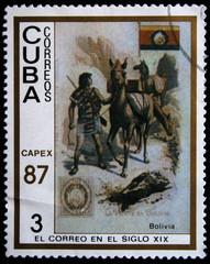 post of Bolivia