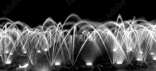 Leinwanddruck Bild Singender Brunnen in Marienbad © melanieloeffler