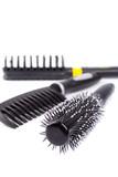three hairbrushes poster
