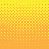 linear halftone tone background yellow poster