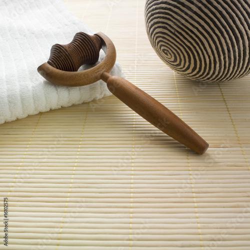 objet zen massage de laurent hamels photo libre de droits. Black Bedroom Furniture Sets. Home Design Ideas