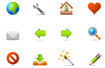Philos icons - set 2 | Internet and Blogging