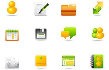 Philos icons - set 5 | Internet and Blogging
