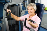 Older woman working out - 16116991