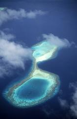 Die Malediven, Luftbild