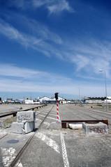 zone industriel abandonnée