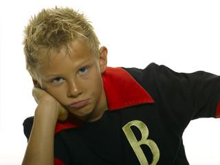 Junge in Sportkleidung
