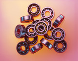 Ball Bearings, close-up