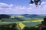 View from the Wachsenburg near Arnstadt, Thuringia, Germany