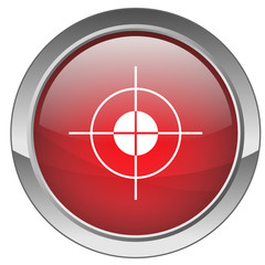 """Bouton """"Objectif"""" (rouge) - """"Target"""" button (red)"""
