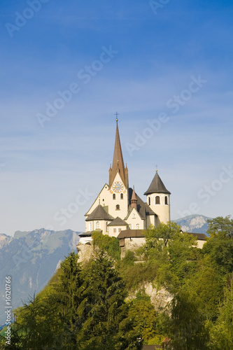 Austria, Rankweil, church