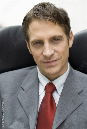 Portrait of businessman in the office