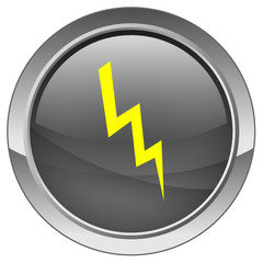 "Bouton ""éclair"" - ""Lightning"" button"