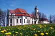 Germany, Bavaria, Wieskirche, church of pilgrimage