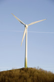 Wind turbine, close-up