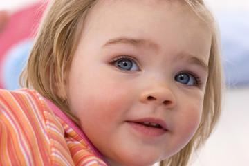 Mädchen Kleinkind, Portrait