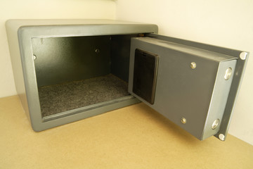 Safe Geldschrank, close-up