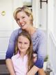 Mutter und Tochter, Porträt