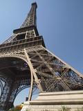 La Torre Eifel desde en pilar norte poster