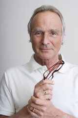 Senior Mann, Portrait