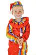 Kleiner Junge als Clown