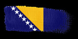 bandiera Bosnia Erzegovina poster