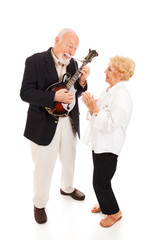Musical Senior Couple