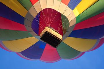 Heißluftballon Detail