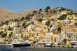 Greece symi -  landscape with mountain