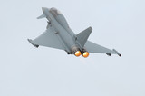 Eurofighter (Typhoon) with afterburner