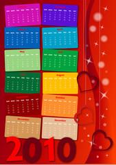 calendario 2010 love+photo
