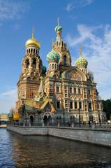 Eglise du saint sauveur sur le sang versé à Saint Petersbourg