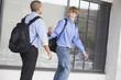 Teen school boys