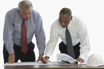 Two CEOs working