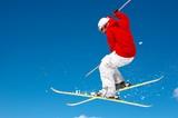 Fototapeta skier