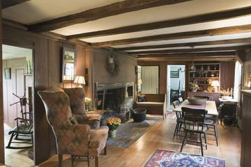 Antique house interior