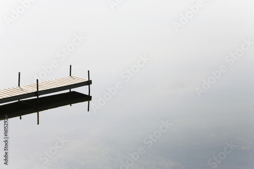 Dock on a lake