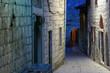 Croatia, Rab city on the night. The street - 16154559