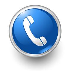 boton azul telefono