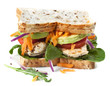 Chicken and Salad Sandwich