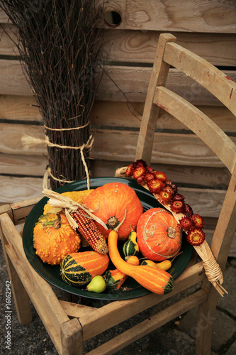 Decorations of the pumpkin