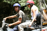 Couple on ATV adventure